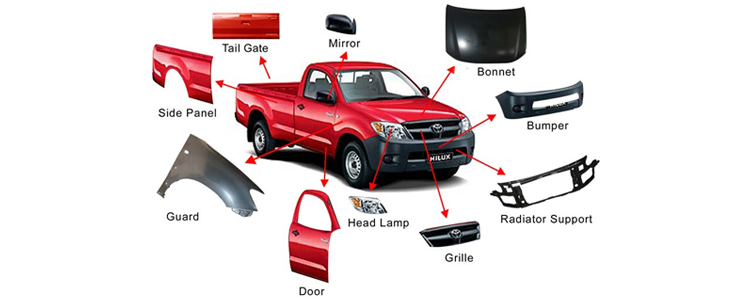 Used Toyota Car parts – Ideal solution for car renovation