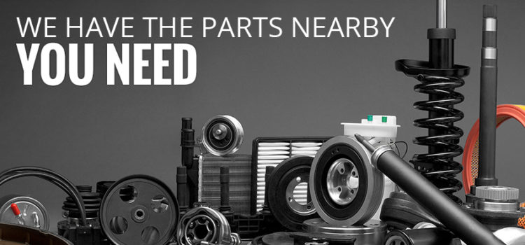 Find used auto parts near you